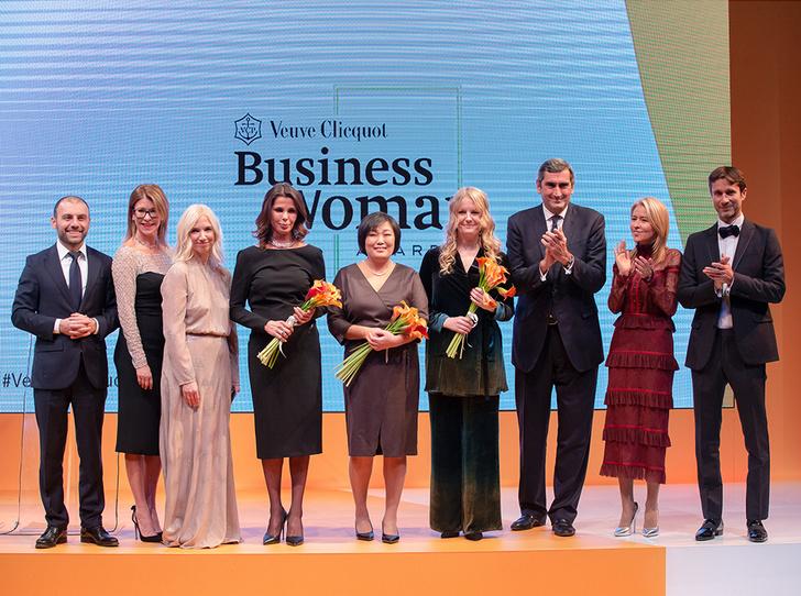Фото №1 - Итоги международной бизнес-премии Veuve Clicquot Business Woman Award