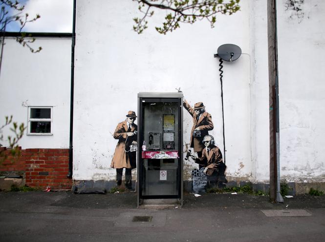 Фото №17 - Кто такой Бэнкси: художник, «качественный вандал» и провокатор