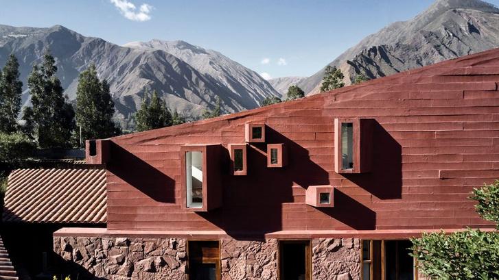 Фото №8 - Дом из красного камня в Перу