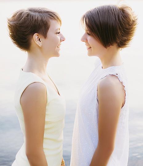 Юлия и Анна Казанцевы, фото
