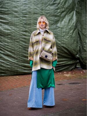 Самые модные сочетания цветов этой зимы: 20 стильных примеров