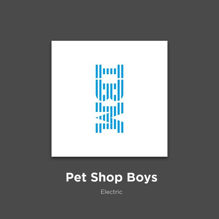 Фото №14 - 27 альбомов поп- и рок-звезд в виде известных логотипов