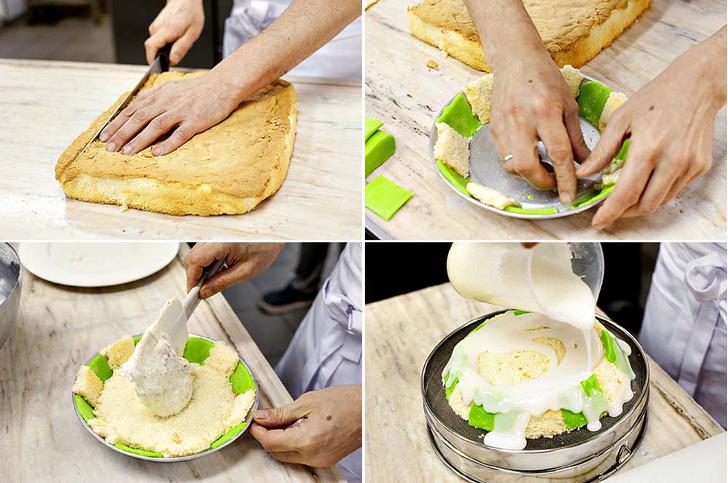 Фото №3 - Сладкий, как жизнь: торт из рикотты и марципана к пасхальному столу