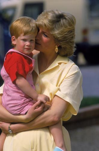 Фото №13 - История в фотографиях: какой мамой была принцесса Диана
