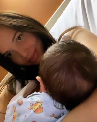 Фото №2 - Анастасия Решетова впервые показала лицо сына