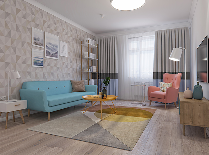 Фото №5 - Бабушкина квартира, или Правила дизайна интерьера в стиле Mid-century