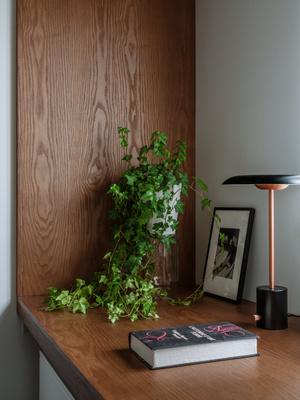 Фото №7 - Как уместить в однушке спальню, кабинет и гостиную: фото