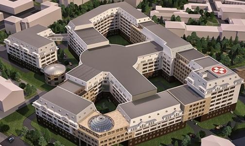 Фото №1 - Новую клинику ВМА в Петербурге обещают сдать в июне
