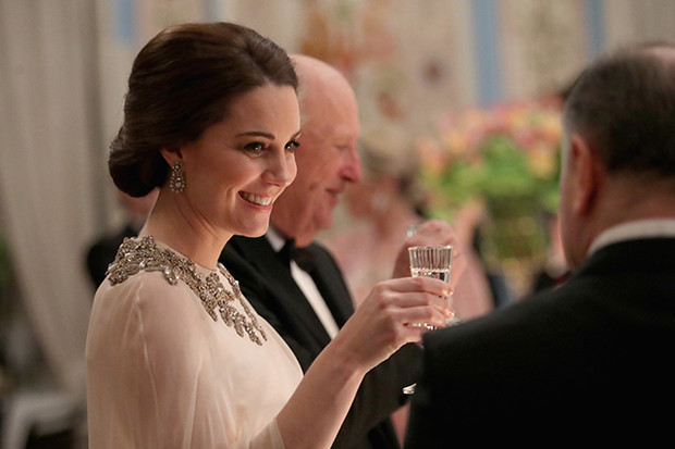 Фото №27 - Кейт Миддлтон и принц Уильям в Норвегии: день первый