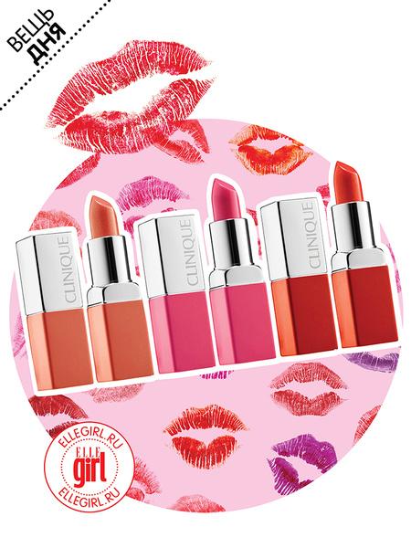Помады, Pop Lip Colour + Primer, Clinique
