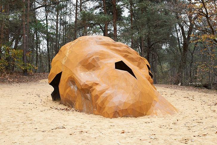 Фото №2 - Скульптура в песчаных дюнах Бельгии
