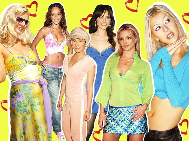 Фото №1 - Беспощадный гламур: 10 трендов из 2000-х, которые актуальны снова