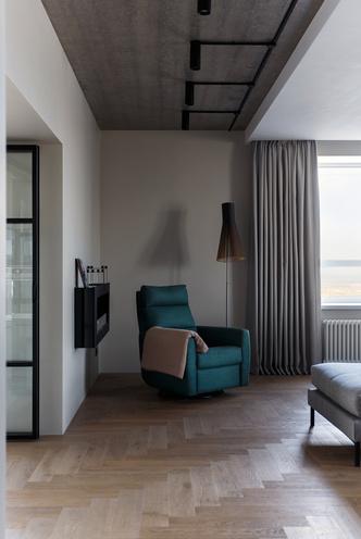Фото №3 - Квартира в Перми 120 м² с панорамным видом на Каму
