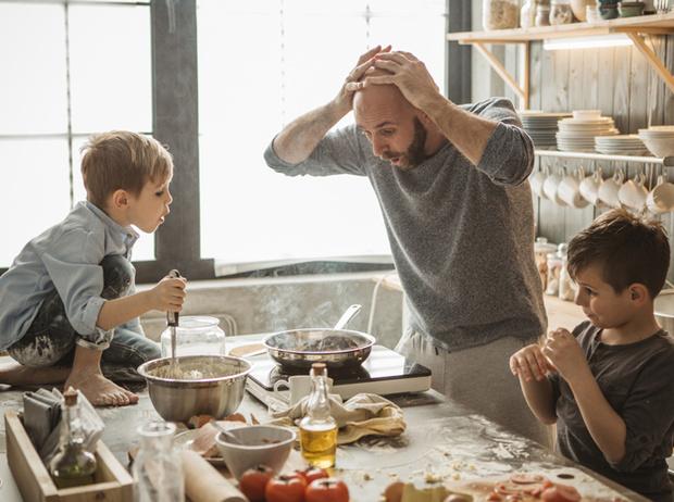 Фото №3 - «Папа не может» или Почему мы постоянно поучаем мужей