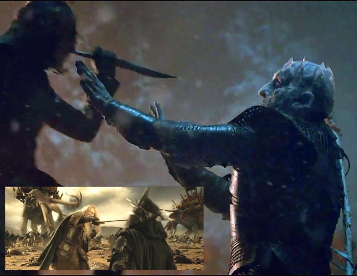 Фото №10 - 9 раз, когда «Игра престолов» повторила «Властелина колец»
