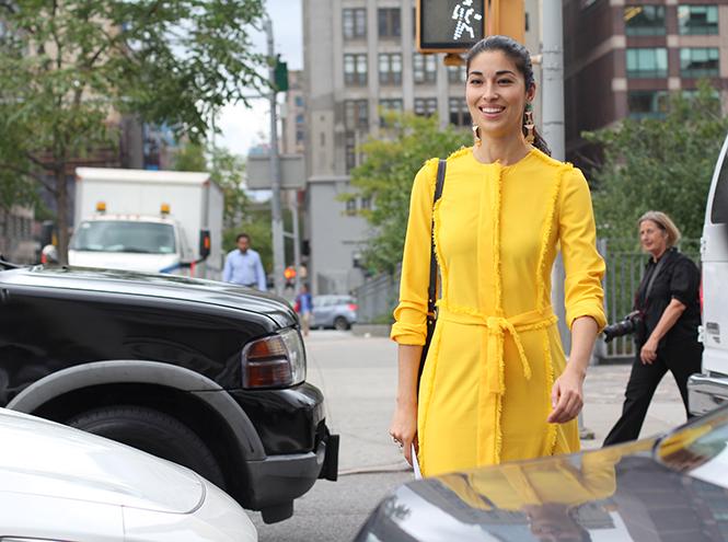 Фото №4 - Образы гостей недели моды в Нью-Йорке в прошедшие выходные
