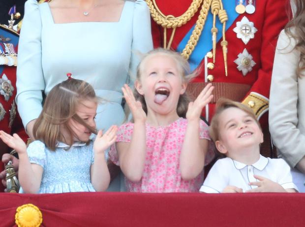 Фото №10 - Кто эта девочка, затмившая принца Джорджа и принцессу Шарлотту