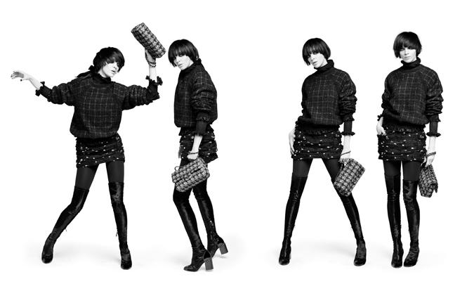Фото №6 - Новая коллекция Chanel в объективе Карла Лагерфельда