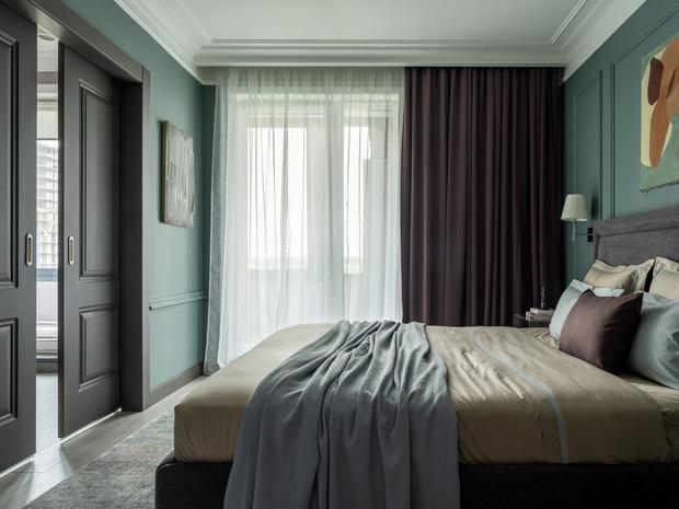 Фото №9 - Квартира в зеленых тонах для жизни за городом