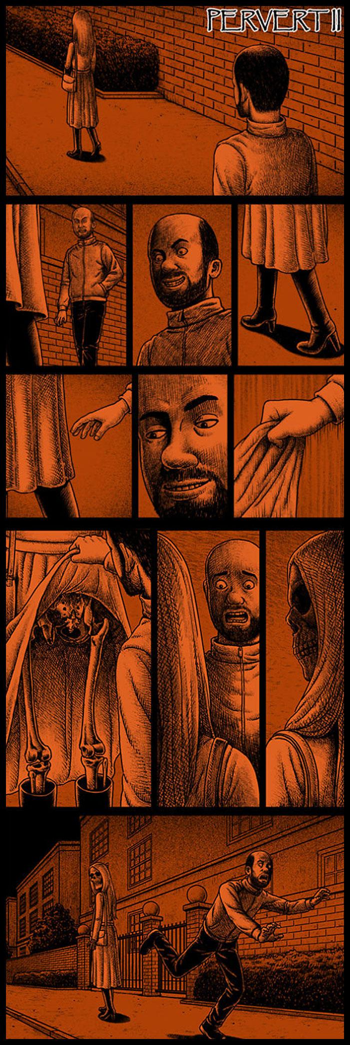 Фото №5 - 30 комиксов с отборным черным юмором от Бена Чена