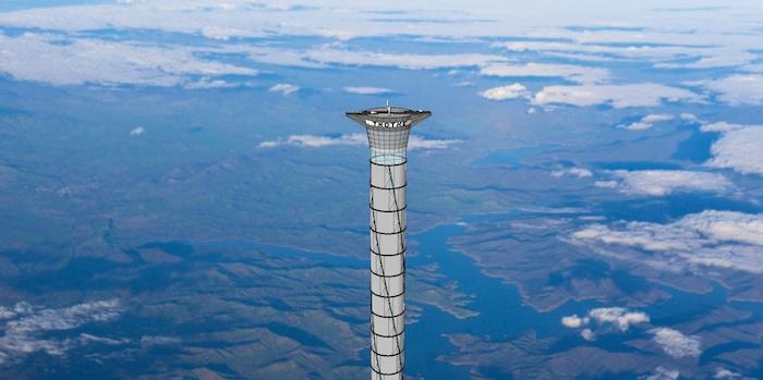 Фото №1 - Запатентован лифт, на котором астронавты смогут попадать в космос