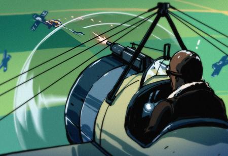 Почему самолеты стреляют прямо через пропеллер и не падают