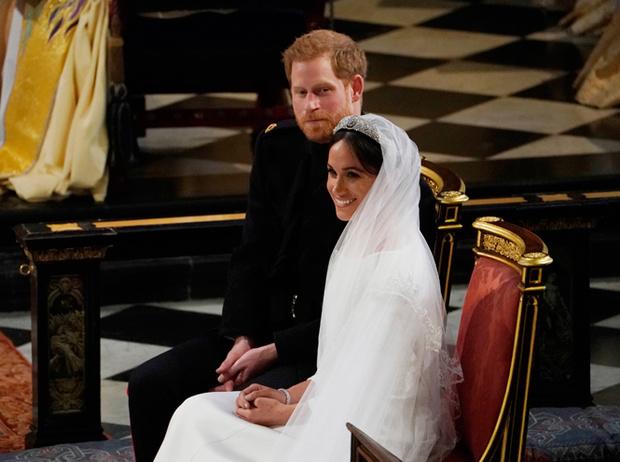 Фото №60 - Свадьба Меган Маркл и принца Гарри: как это было (видео, фото, комментарии)