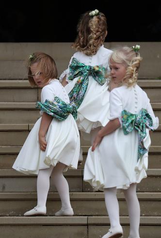 Фото №43 - Свадьба принцессы Евгении и Джека Бруксбэнка