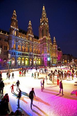 Фото №1 - Каток в центре Вены