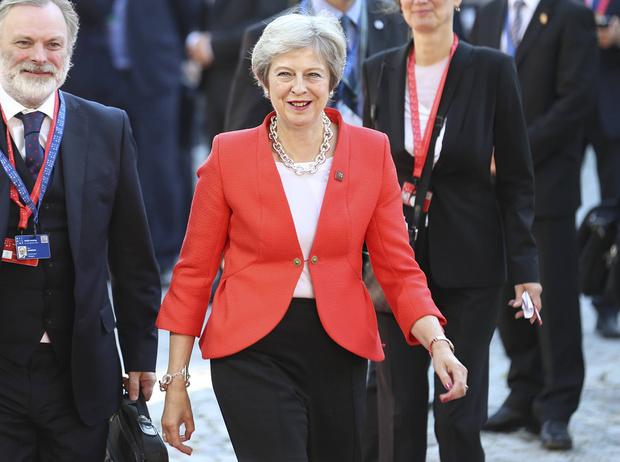 Фото №1 - Тереза Мэй: модная дипломатия и уникальный стиль главы Великобритании