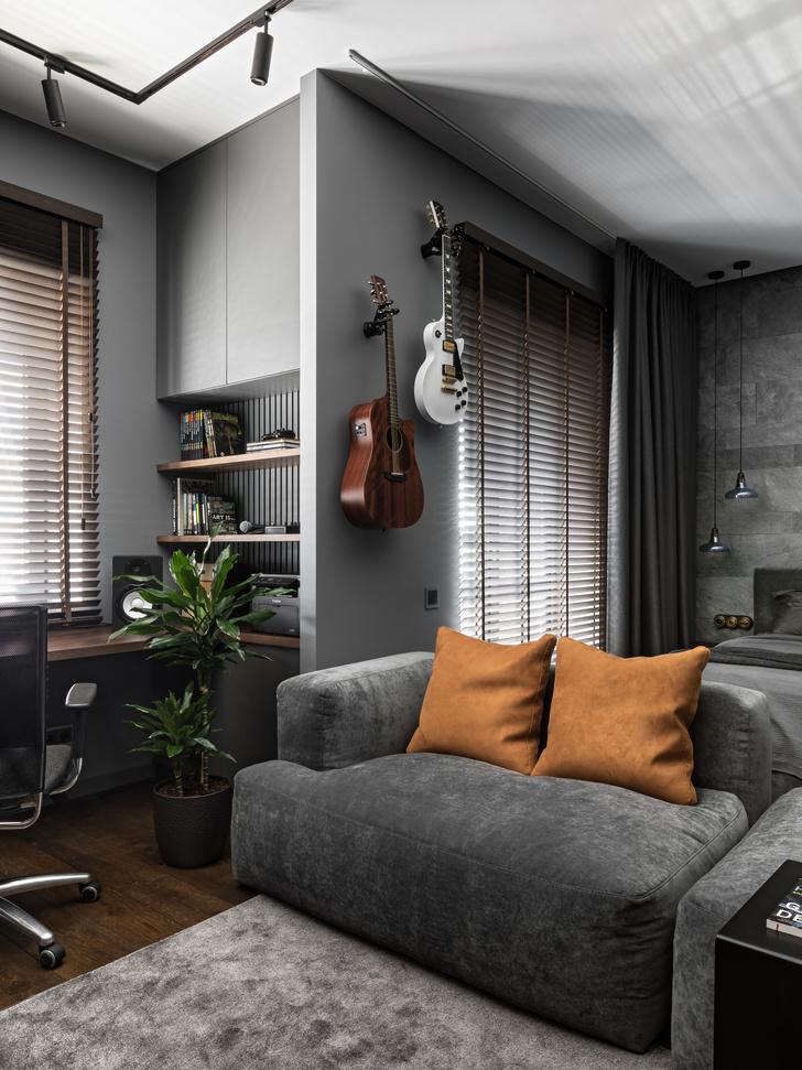 Фото №5 - Квартира 44 м² с мужским характером в Минске