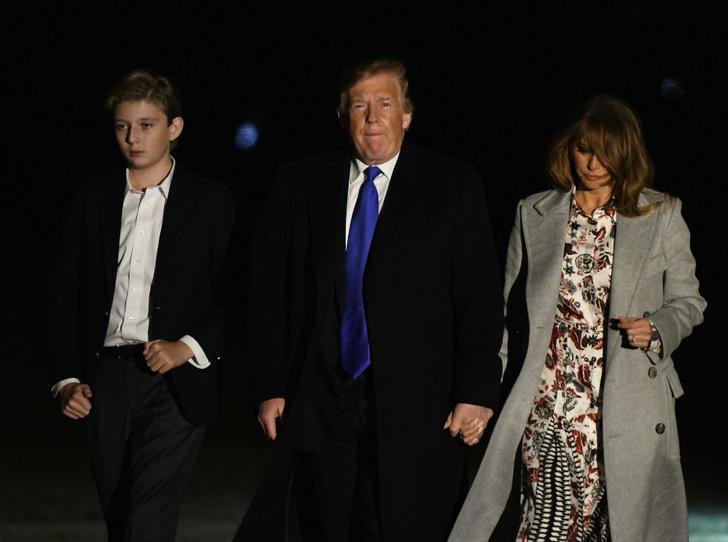 Фото №6 - Почему Мелания и Дональд Трамп не могут договориться о воспитании сына