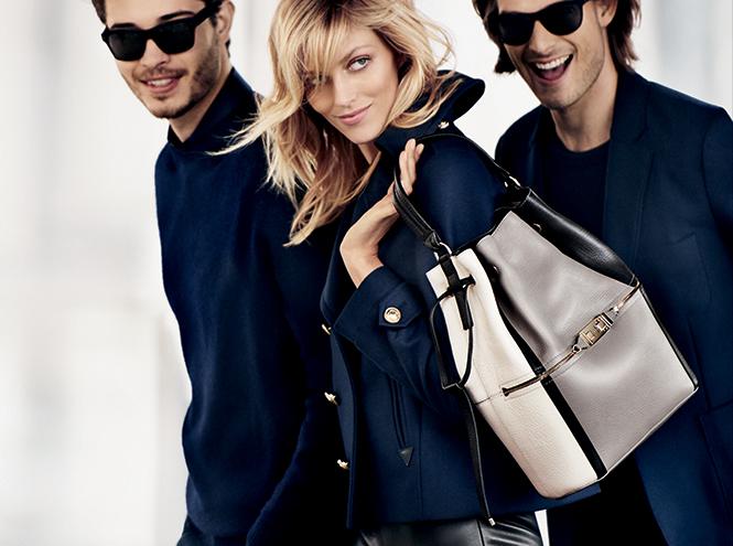 Фото №1 - Рекламная кампания Furla с участием Марио Тестино и Ани Рубик