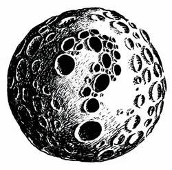 Фото №1 - Как появилась Луна?