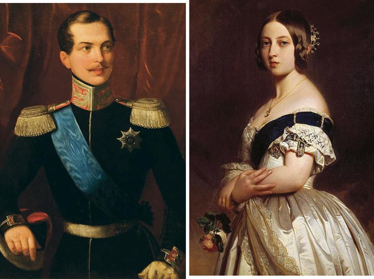Фото №1 - Королева Виктория и будущий император Александр II: роман, который удивил всех