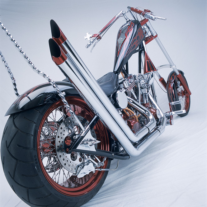 Фото №6 - Чопнутые на всю голову: культовые мотоциклы американской мечты