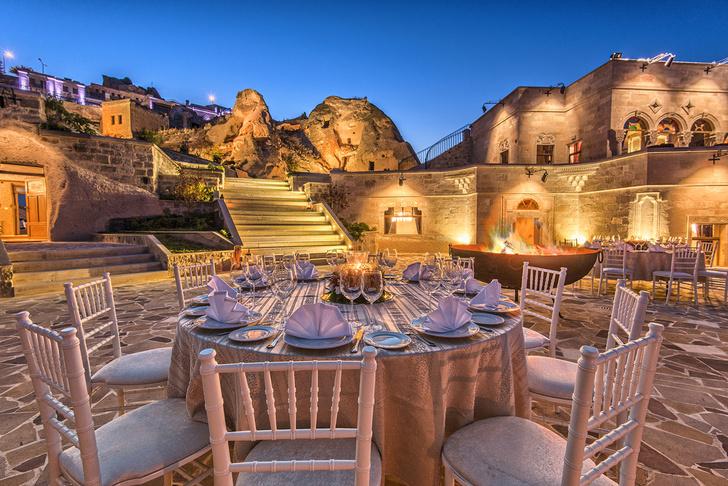 Фото №3 - Удивительный отель с номерами в пещерах в Турции