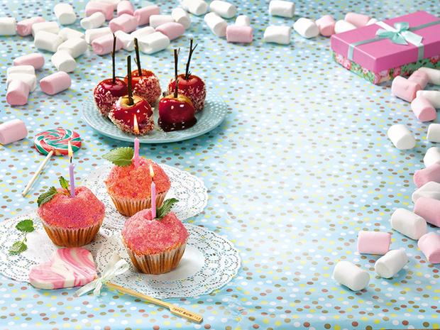 Фото №1 - Яблочные лакомства: идеи для дня рождения