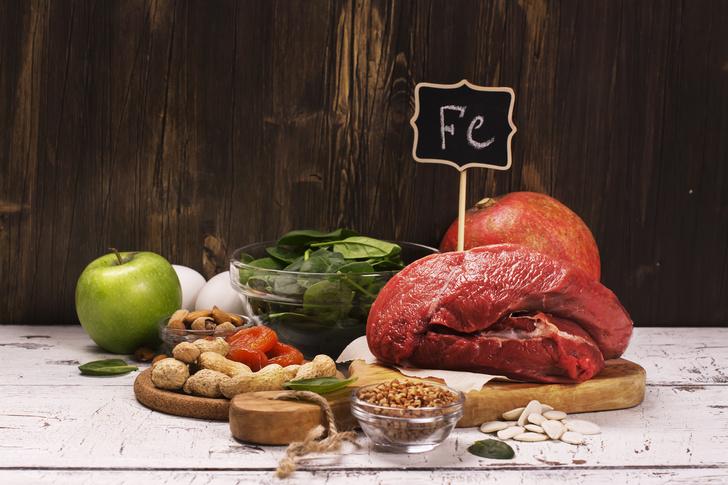 Фото №3 - Питание при анемии: главное блюдо – кислород!