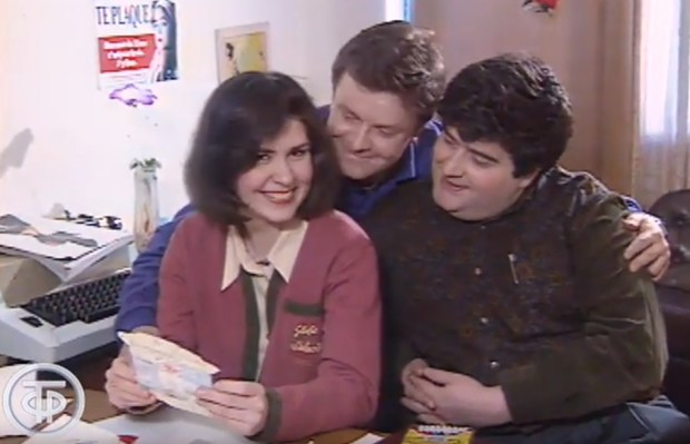 Фото №1 - Как праздновали День святого Валентина на российском телевидении в 1993 году (видео)