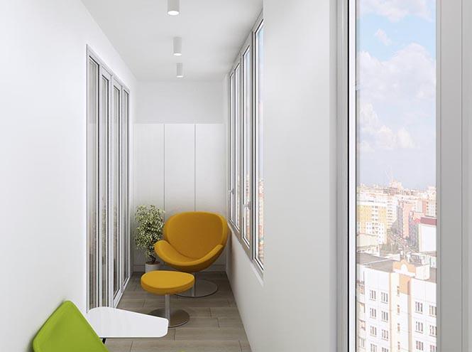 Фото №2 - Как превратить балкон в жилое помещение