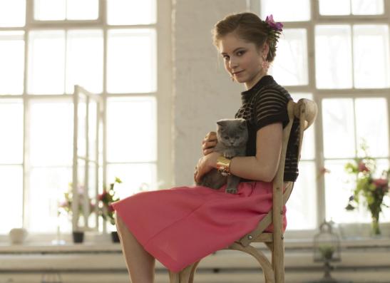 Фото №1 - Юлия Липницкая для ELLE girl: ВИДЕО