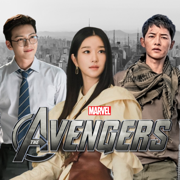 Фото №1 - Корейский Marvel: кто играл бы в «Мстителях», если бы их снимали в Южной Корее 🐱🏍