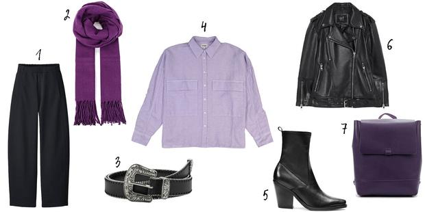 Фото №3 - Как носить фиолетовые вещи, чтобы не повторить ошибки Карди Би