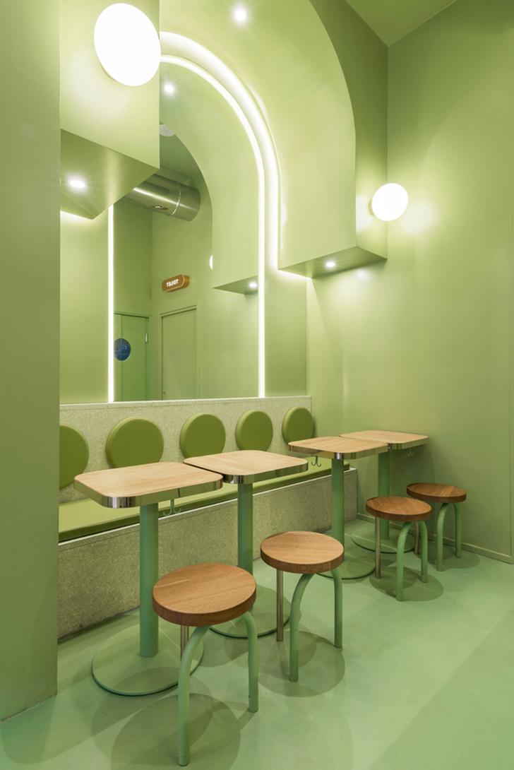 Фото №6 - Яркая закусочная Bun в Милане