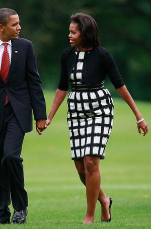 Фото №7 - От супруги президента к модной иконе: эволюция стиля Мишель Обамы