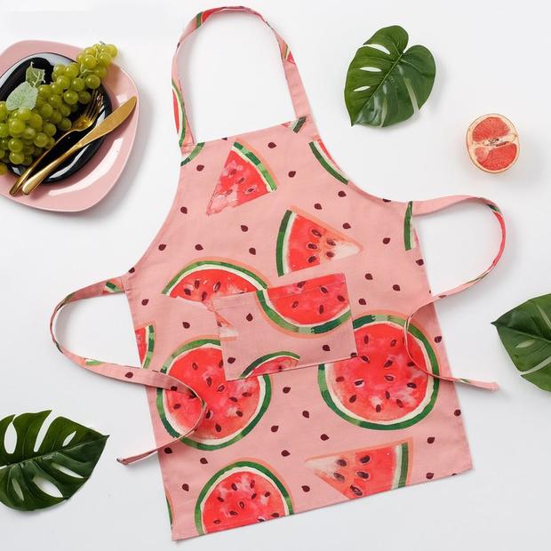 Фото №9 - Модные фартуки и текстиль для кухни