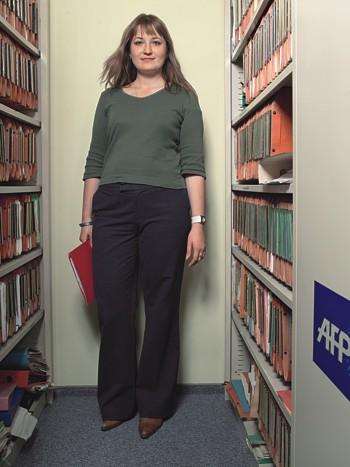 Виктория Логинова, репортер информационного агентства France Presse