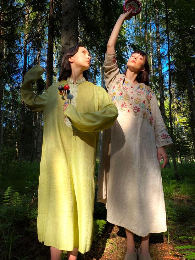 Фото №11 - Идеальные выходные на даче с сестрами Настей и Ариной Шевцовыми