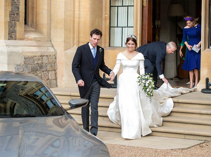 Фото №70 - Свадьба принцессы Евгении и Джека Бруксбэнка